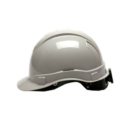 Pyramex Safety Products Ridgeline Cap Style Hard Hat 4 Point Ratchet  Gray