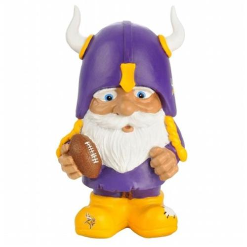 Forever Collectibles CSY-8686762538 Minnesota Vikings NFL Mad Hatter Gnome