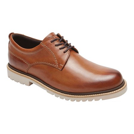 Mens Rockport Marshall Plain Toe Oxford