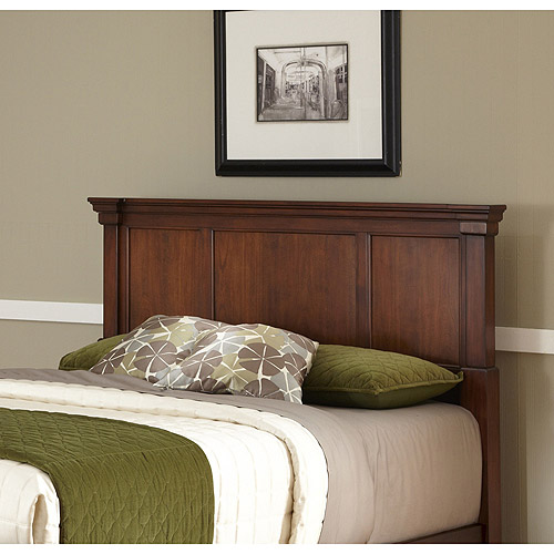 Home Styles The Aspen Collection King California King Headboard, Rustic Cherry Black by Home Styles