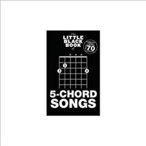The Little Black Book Of 5-Chord Songs (Little Black Songbook) (Paperback)
