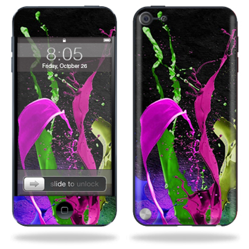 Mightyskins Protective Skin Decal Cover for Apple iPod Touch 5G (5th generation) MP3 Player wrap sticker skins Splat