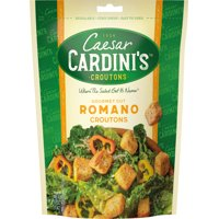 Cardini's Romano Cheese Croutons, 5 oz (Pack of 12)