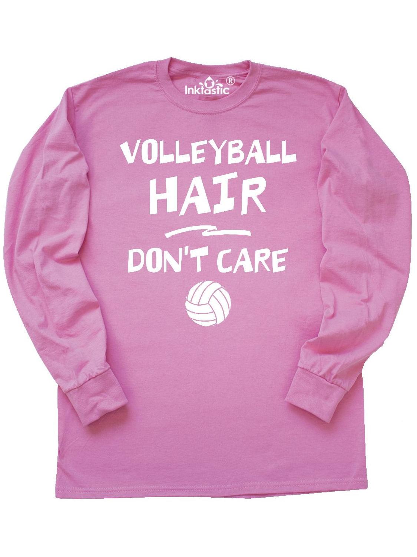 Volleyball Hair Long Sleeve T-Shirt