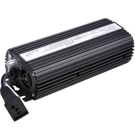 Image of 600W Dimmable HPS MH Digital Electronic Ballast for Hydroponic Grow Light 120/240V UL