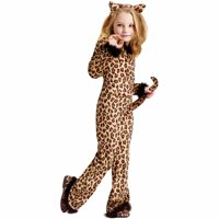 Pretty Leopard Child Halloween Costume