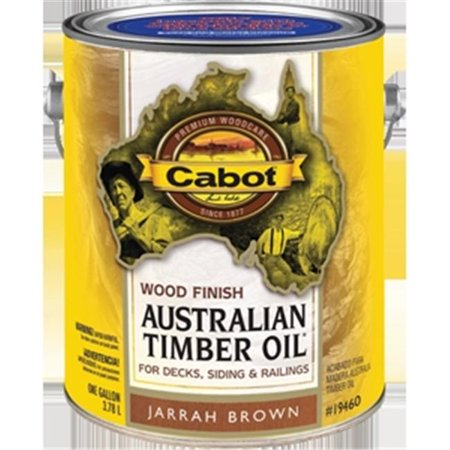 Cabot Exterior Stain, Jarrah Brown (Exterior Oil Stain)