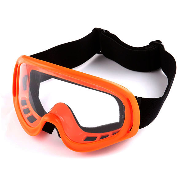 WOW Motocross ATV MX BMX Dirt Bike Ski Snowboard Skiing Goggle Matt Black