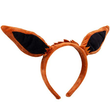 Pok?mon Eevee Plush Headband - Eevee Ears for Dress Up, Halloween and More - One Size Fits All