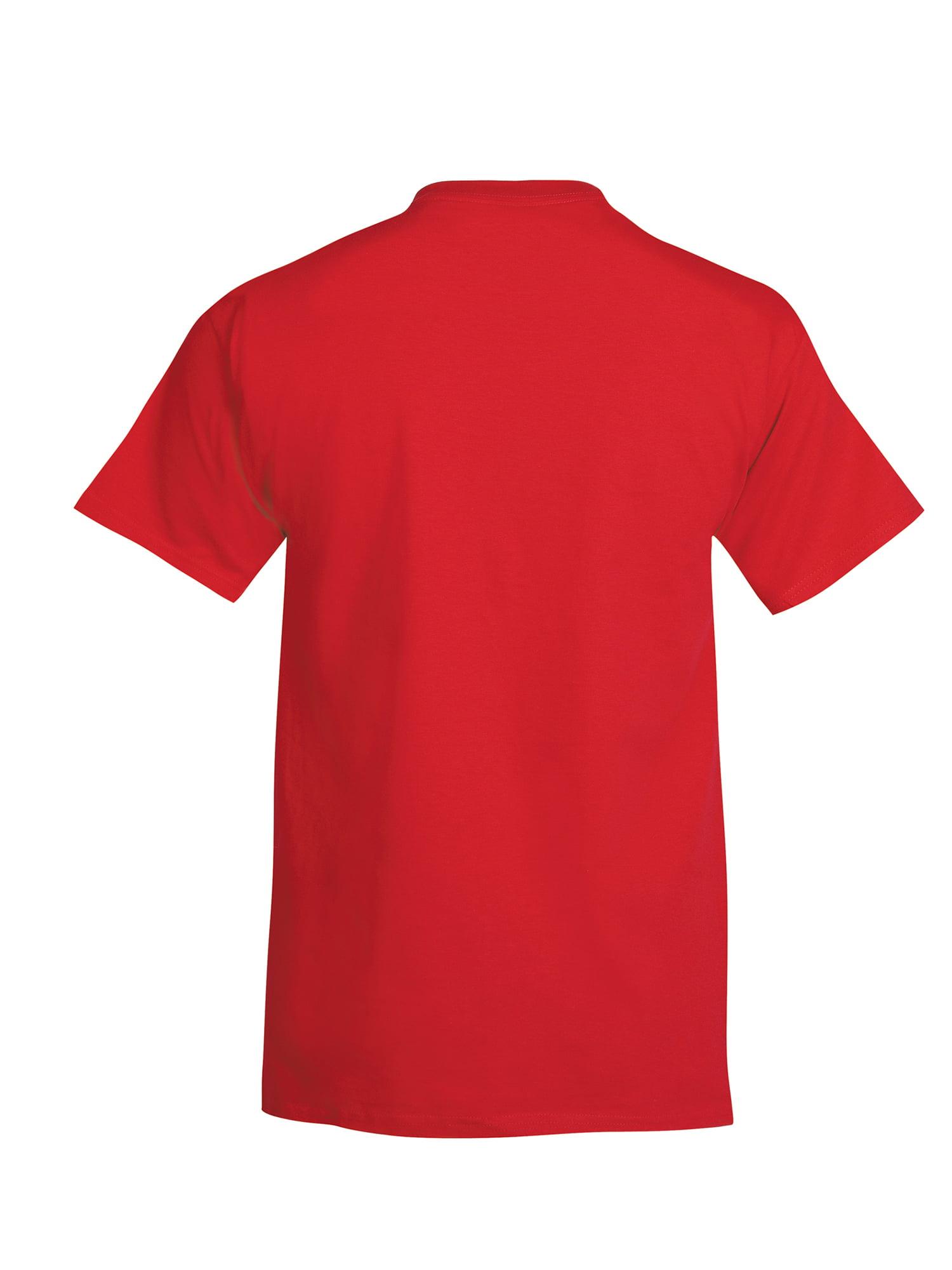Hanes - Hanes Men s Beefy-T Crew Neck Short Sleeve T-Shirt 313db39ce