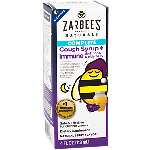 Zarbee S Naturals Children S Nighttime Cough Syrup