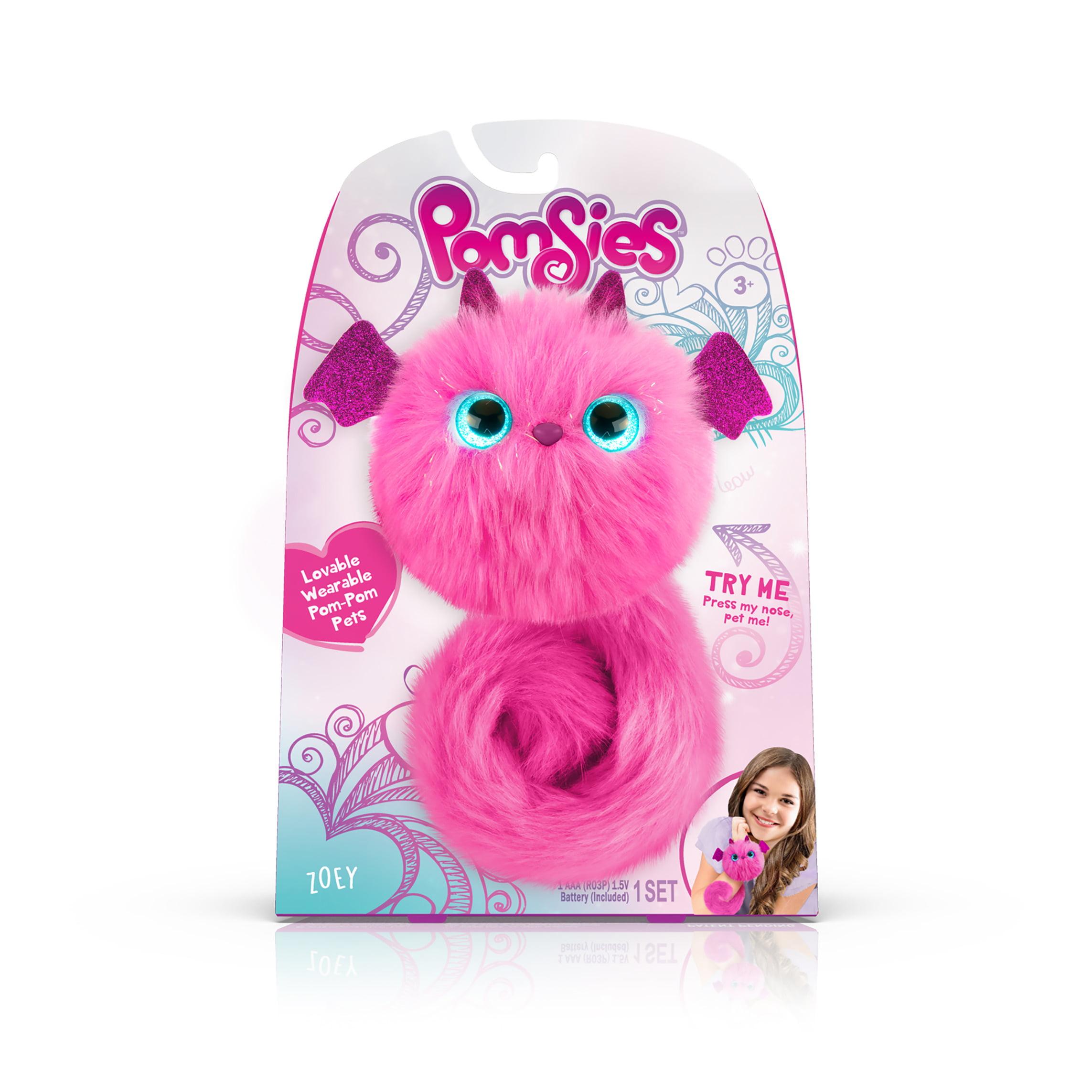 Pomsies Pet Dragon Zoey- Plush Interactive Toy