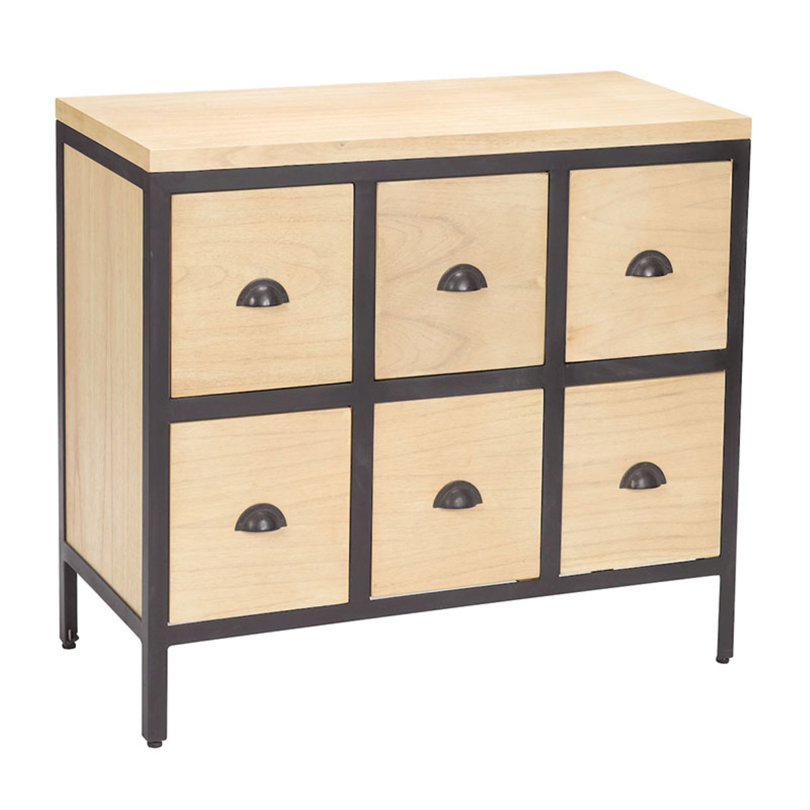 Sterling 6 Drawer Accent Chest