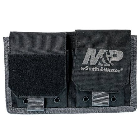 Smith & Wesson Gear MP Pro Tac Pistol Magazine Pouch for Tactical Rugged Use with Weather Resistant Material (Black), DIMENSIONS .., By Smith Wesson Accessories Ship from