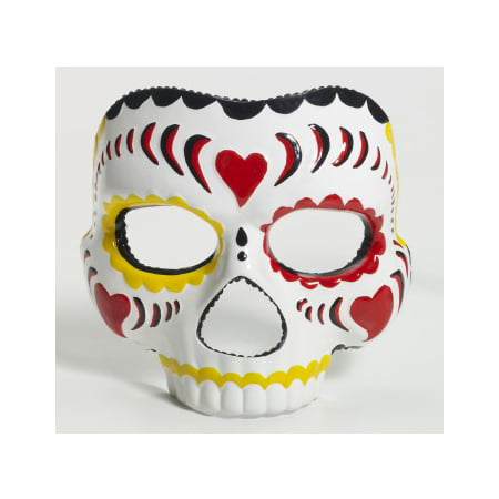 MASK-DAY OF THE DEAD-MALE - Day Of The Dead Costume Mask