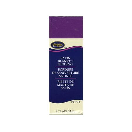 Poly Binding (Wrights Blanket Binding Poly 4.75yd Purple)