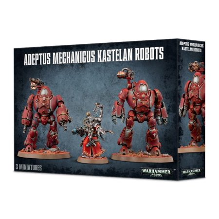 Games Workshop Warhammer 40,000 Adeptus Mechanicus Kastelan Robots 59-16 (Warhammer War Hammers)