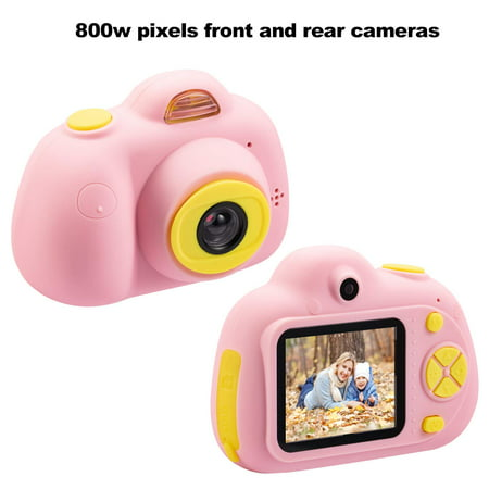 Kids Toys Camera Gifts for 3-8 Year Old Girls, mini Selfie Shockproof Cameras for kids, Great Gift for Little Girl with Soft Silicone Shell for Outdoor Play, Included 16GB Memory Card, S10073 - Outdoor Soft Shell