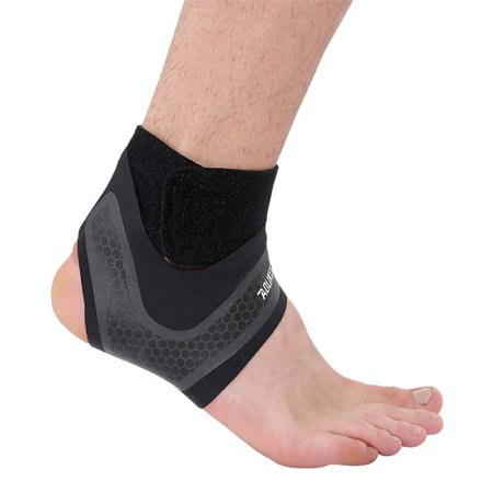 Ankle Injury Treatment (1Pc Sports Ankle Support Brace Foot Sprains Injury Wrap Guard Protector)