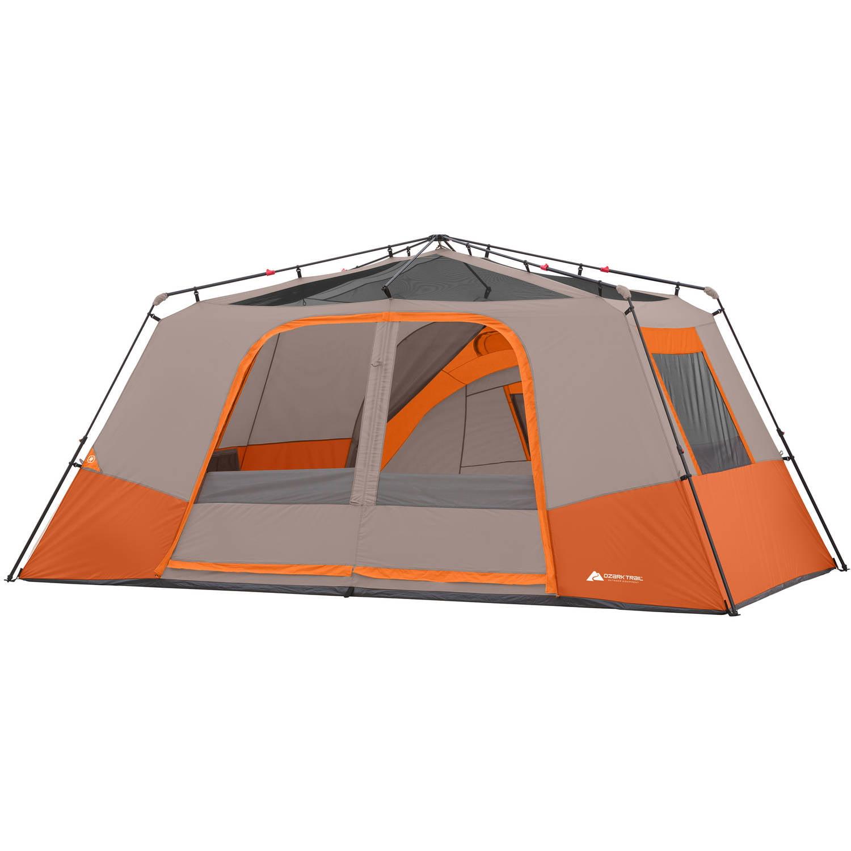 sc 1 st  Walmart & Ozark Trail 11p Instant Cabin W/ Private Room Orange - Walmart.com