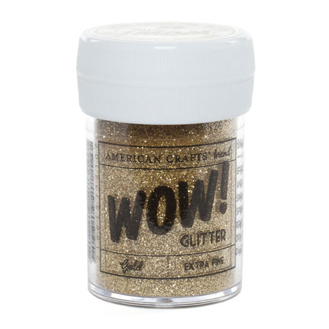 Wow Extra Fine Glitter Gold 1Oz