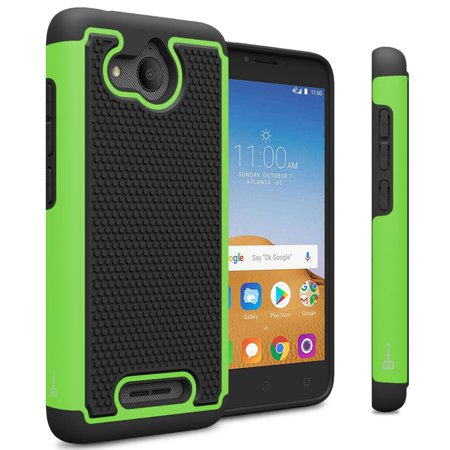 CoverON Alcatel Tetra / 5041C Case, HexaGuard Series Hard Phone Cover ()