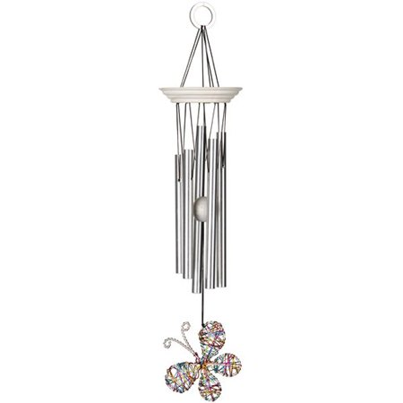 Woodstock Chimes Isabelle's Dancing Butterfly Wind Chime (Make Your Own Wind Chimes)