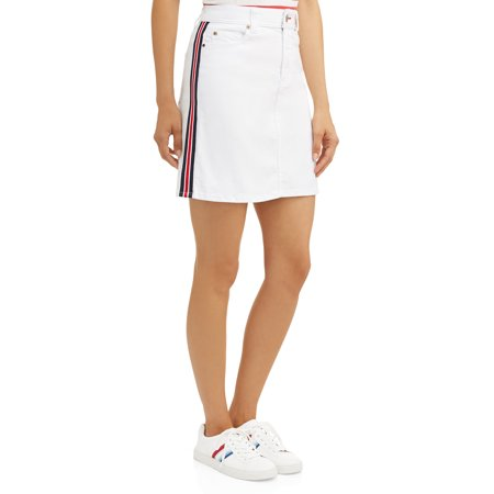 EV1 from Ellen DeGeneres Alex Skirt with Side Stripe Women's Drift Side Skirts