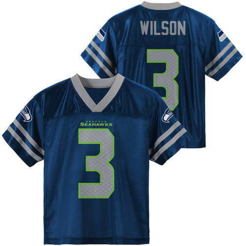 NFL Seattle Seahawks Youth Russell Wilson Jersey