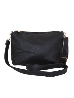 Product Image Crossbody Bag - Vegan Leather Satchel Messenger Hobo Handbag  Shoulder Purse e8dae60df57b2