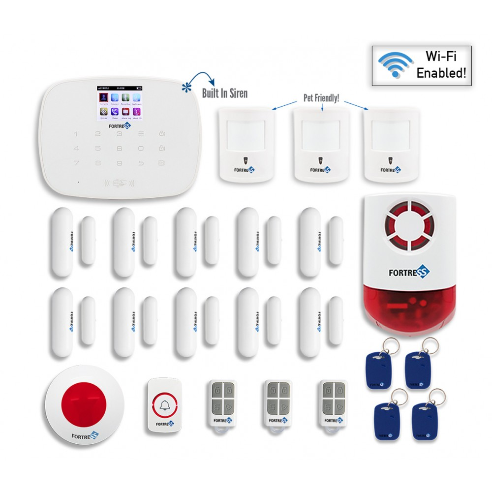 Fortress Security Store- Total Security Wi-Fi Kit C DIY W...