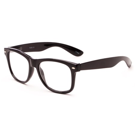 Readers.com Reading Glasses: The Dean Reader, Plastic Retro Square (Retro Readers)