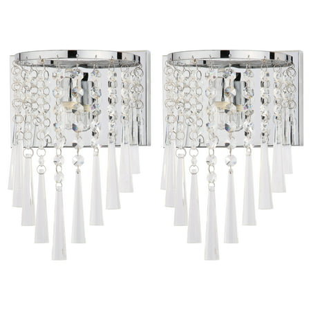 Safavieh Tilly Chrome 10-Inch H Beaded Wall -