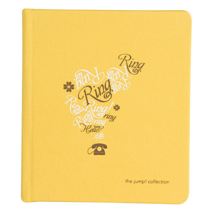 Ring Business Card Holder - Butter