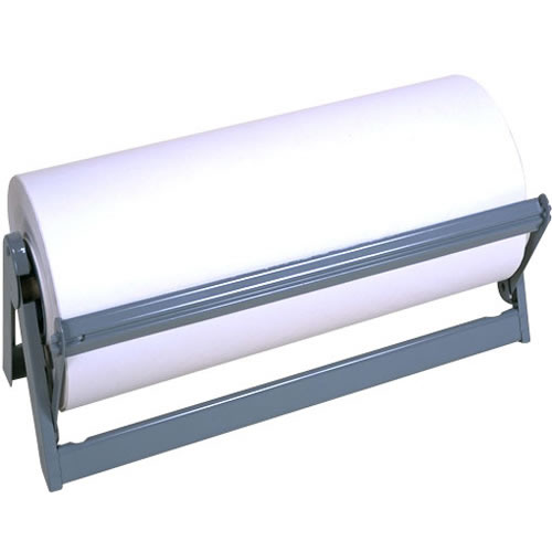 Box Helmets 24 Inch Paper Roll Dispenser and Cutter