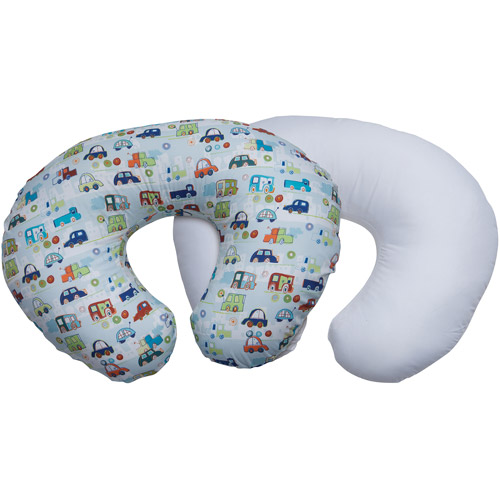 Boppy Pillow Protector and Fashion Slipcover Value Pack, Boy
