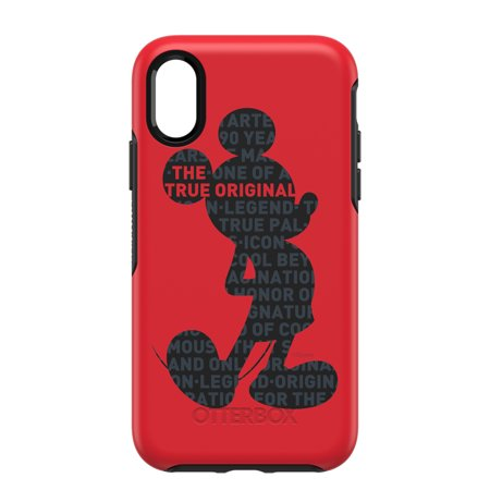 new styles 0c151 8fbf9 OtterBox Symmetry Series Mickey's 90th Case for iPhone X/Xs, True Original