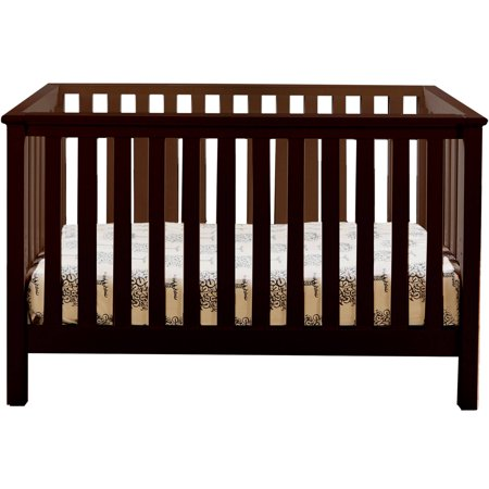 Lolly And Me Mod 4 In 1 Fixed Side Convertible Crib