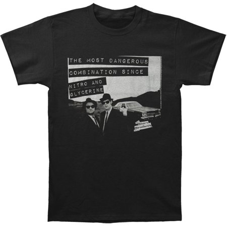Blues Brothers Men's  Danger T-shirt Black