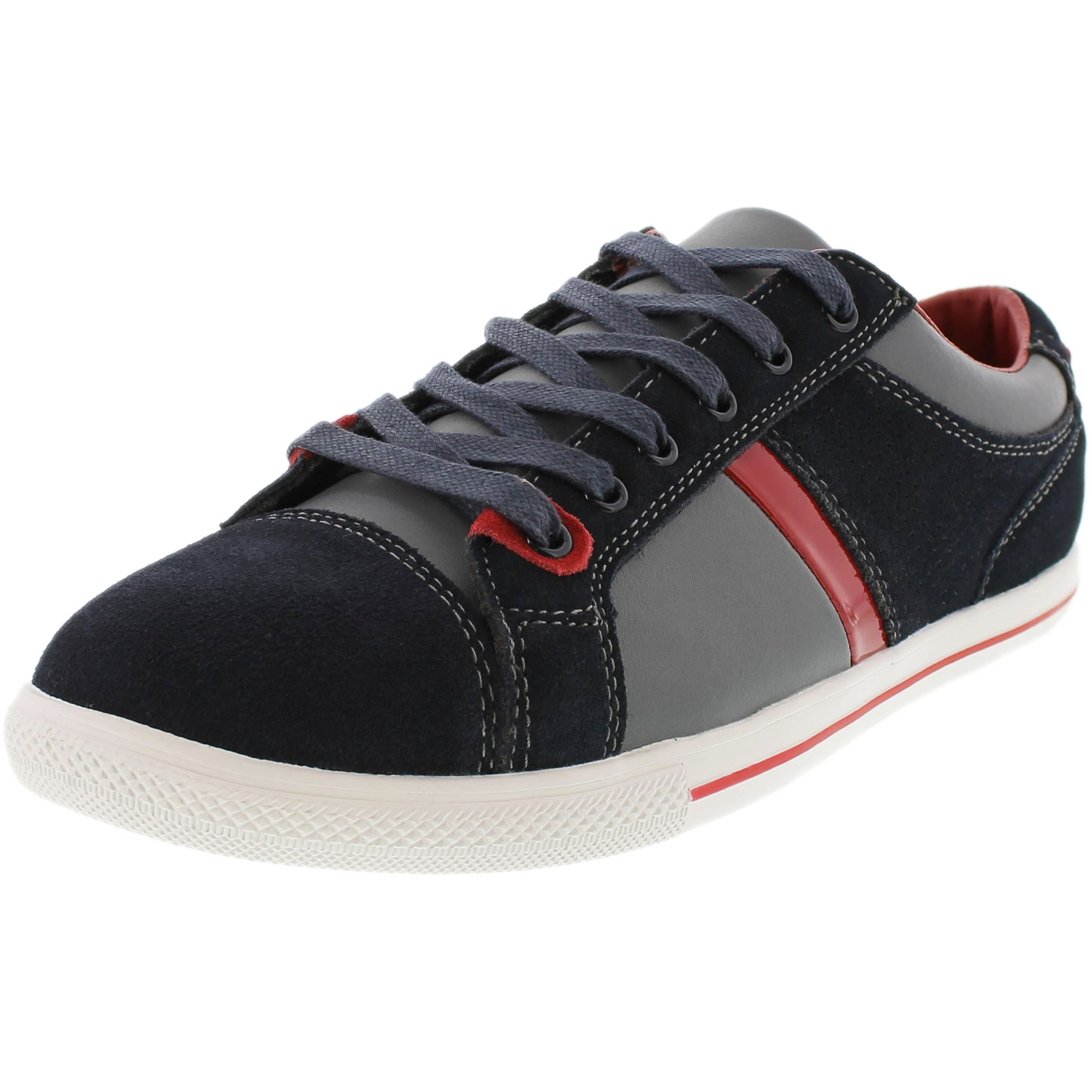 Kenneth Cole Men's Gone 4 Good Navy Ankle-High Leather Walking Shoe - 7.5M