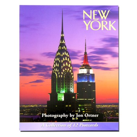 New York City Postcard (Set of 12 - Card And Party City