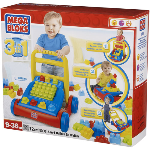 Mega Bloks Build 'N Go 3-in-1 Walker