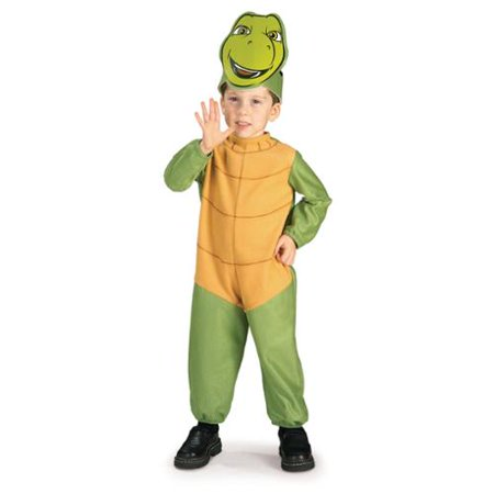 Over The Hedge Verne (Turtle) Flannel Baby Costume 6-12 - Turtles Costumes