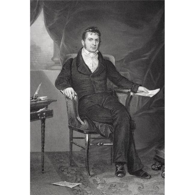 Posterazzi DPI1838845LARGE William Pinkney 1764 - 1822 American Statesman Diplomat & Prominent Lawyer From Painting by Alonzo Chappel Poster Print, Large - 22 x 34 - image 1 de 1