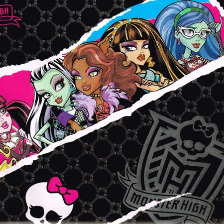 Monster Wrapping Paper (Monster High Off Roll Folded Wrapping Paper (20 sq.)