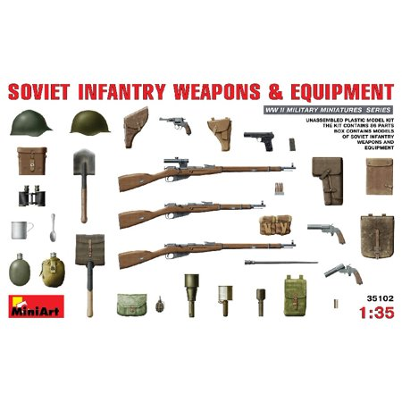 Wwii German Infantry Weapons - 1/35 WWII Soviet Infantry Weapons & Equipment