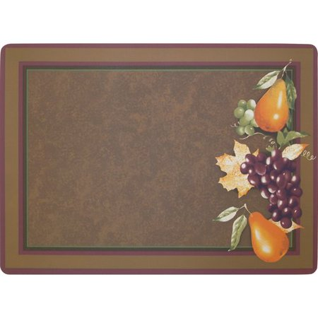Better Homes And Gardens Harvest Grapes Foam Placemat