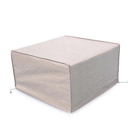 Wondrous Abba Patio Square Fire Pit Table Cover Outdoor Cover Waterproof 43 Inch Beige Theyellowbook Wood Chair Design Ideas Theyellowbookinfo