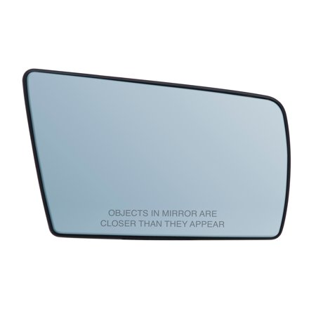 Cl Coupe - 30292 - Fit System Passenger Side Heated Mirror Glass w/ backing plate, Mercedes C-class 94-00, CL 98-00, E 96-99, E Wagon 98-99, S Coupe 96-97, S Sedan 96-99, SL 97-98, blue lens