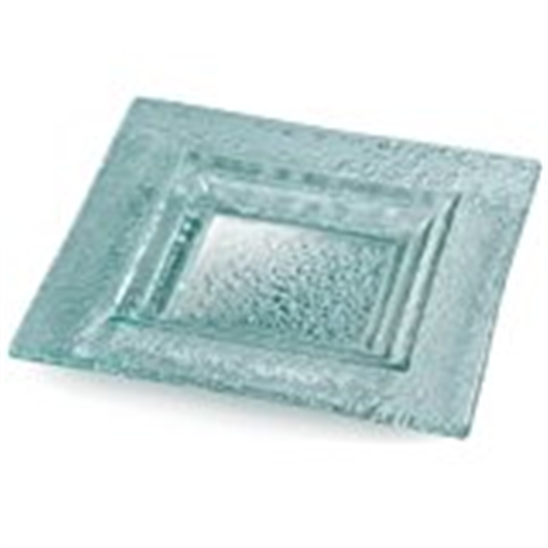 Rosseto 12-Inch Square Glass Platter